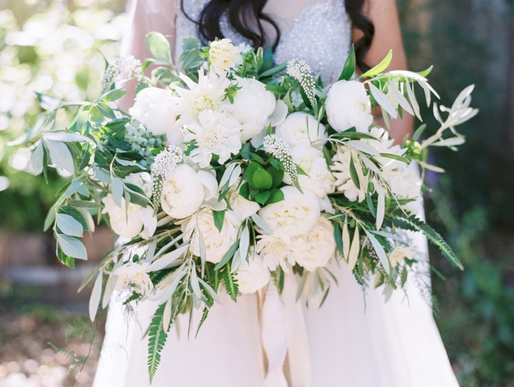 sophisticated floral designs portland oregon wedding florist bridal bouquet with peonies