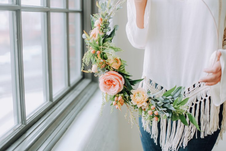 Floral Hoop wedding hoop circle wreath hoop bouquet metal wreath sophisticated floral designs portland oregon spotted stills photography  (7) (736x491).jpg