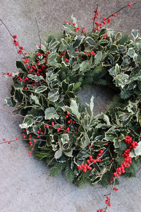 sophisticated floral designs portland oregon wedding florist modern christmas wreaths (13) (491x736).jpg