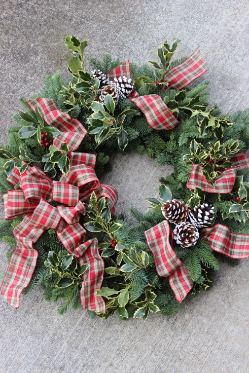 sophisticated floral designs portland florist christmas holiday wreath modern (1).jpg