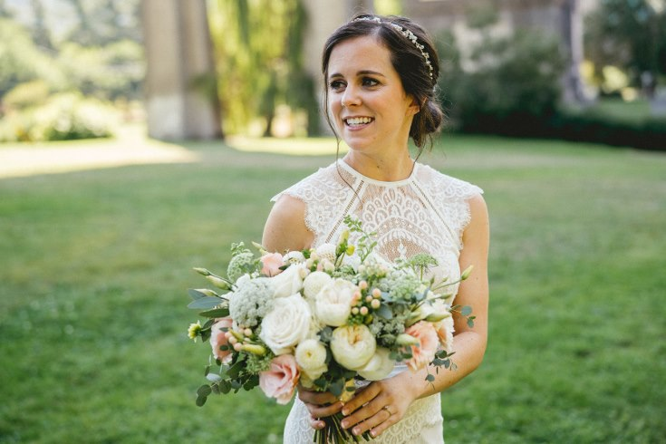 sophisticated floral designs portland oregon wedding florist blush and blue wedding flowers  (40) (735x490).jpg