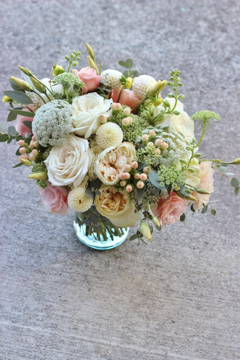 sophisticated floral desigs portland oregon wedding florist blush wedding flowers bridal bouquet
