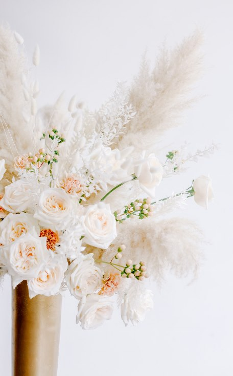 sophisticated floral designs portland oregon wedding florist spotted still photography boho modern fine art pampas  grass bleached flowers (2) (456x735).jpg