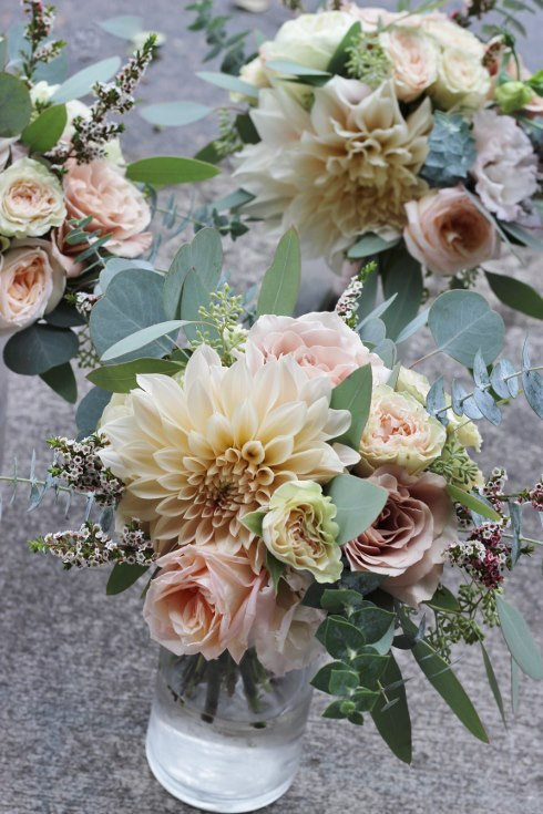 sophisticated floral designs portland oregon wedding florist blush dahlia bouquet abernethy center (7).jpg
