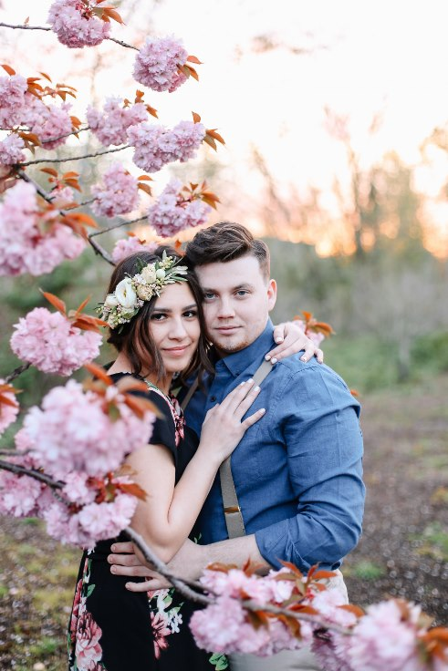sophisticated floral designs portland oregon wedding florist Spotted Stills Engagement Session (59).jpg