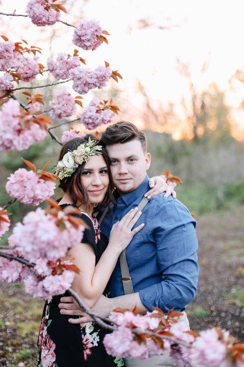 sophisticated floral designs portland oregon wedding florist Spotted Stills Engagement Session (59).jpg