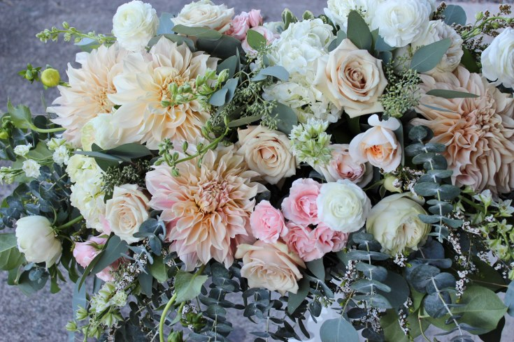 sophisticated floral designs portland oregon wedding florist blush pink flowers  dahlia garden rose (9) (735x490).jpg