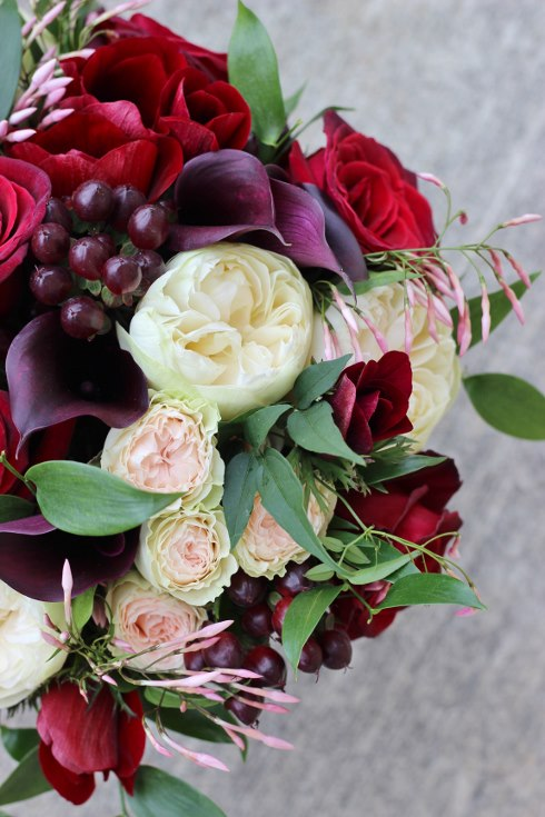 sophisticated floral designs portland oregon wedding florist burgundy black blush wedding bouquet calla lilies garden roses baccara jasmine vine (3) (490x735).jpg