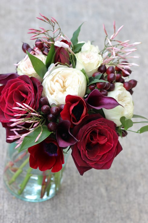 sophisticated floral designs portland oregon wedding florist burgundy black blush wedding bouquet calla lilies garden roses baccara jasmine vine (5) (490x735).jpg