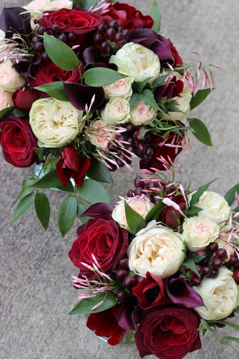 sophisticated floral designs portland oregon wedding florist burgundy black blush wedding bouquet calla lilies garden roses baccara jasmine vine (6) (490x735).jpg