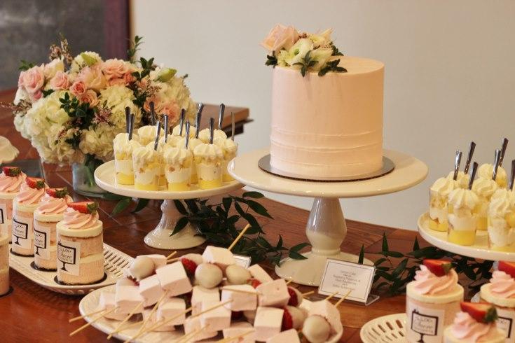 sophisticated floral designs portland oregon wedding event florist baby shower bridal shower flowers wedding cake dessert bar flowers