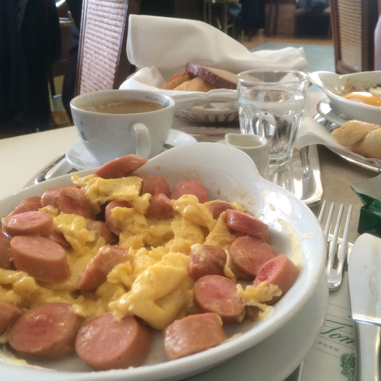 tomaselli wurste eierspeis