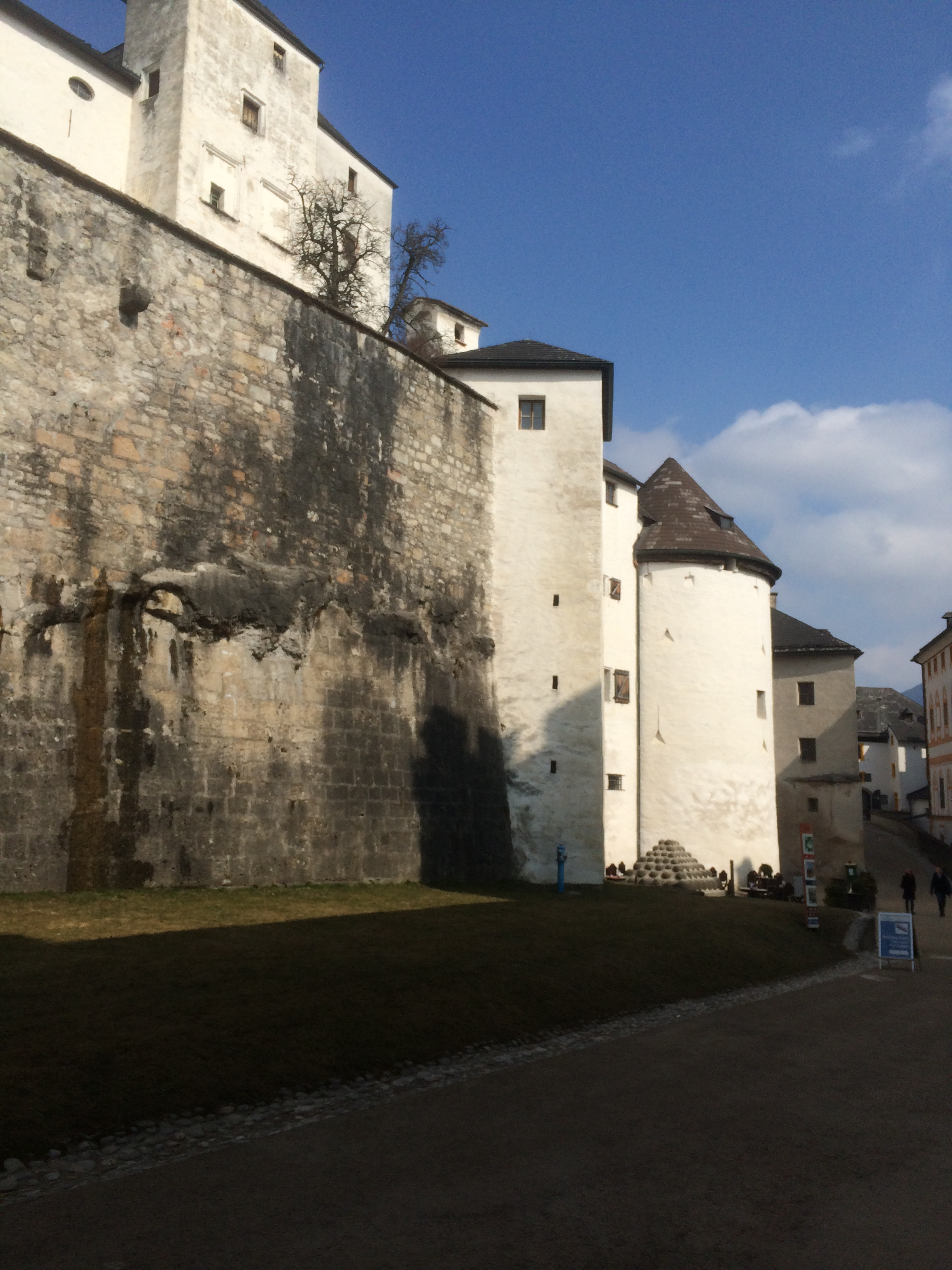 inside the fortress walls