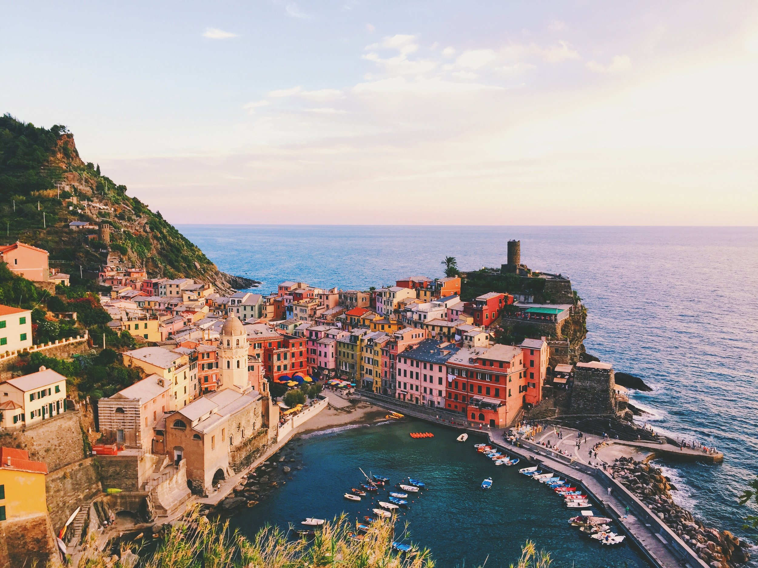 HIKE VERNAZZA TO MONTEROSSO