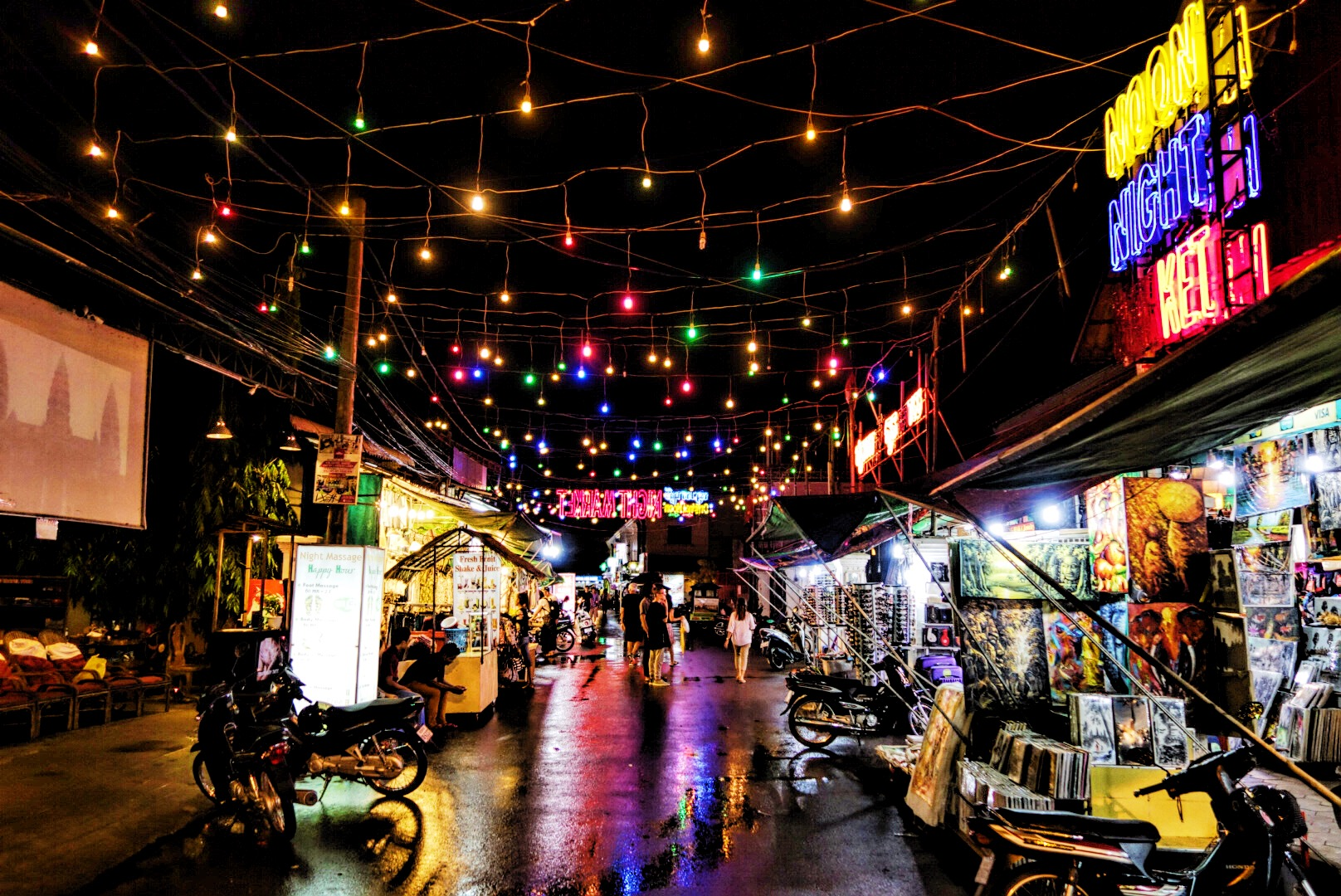 The Angkor Night Market