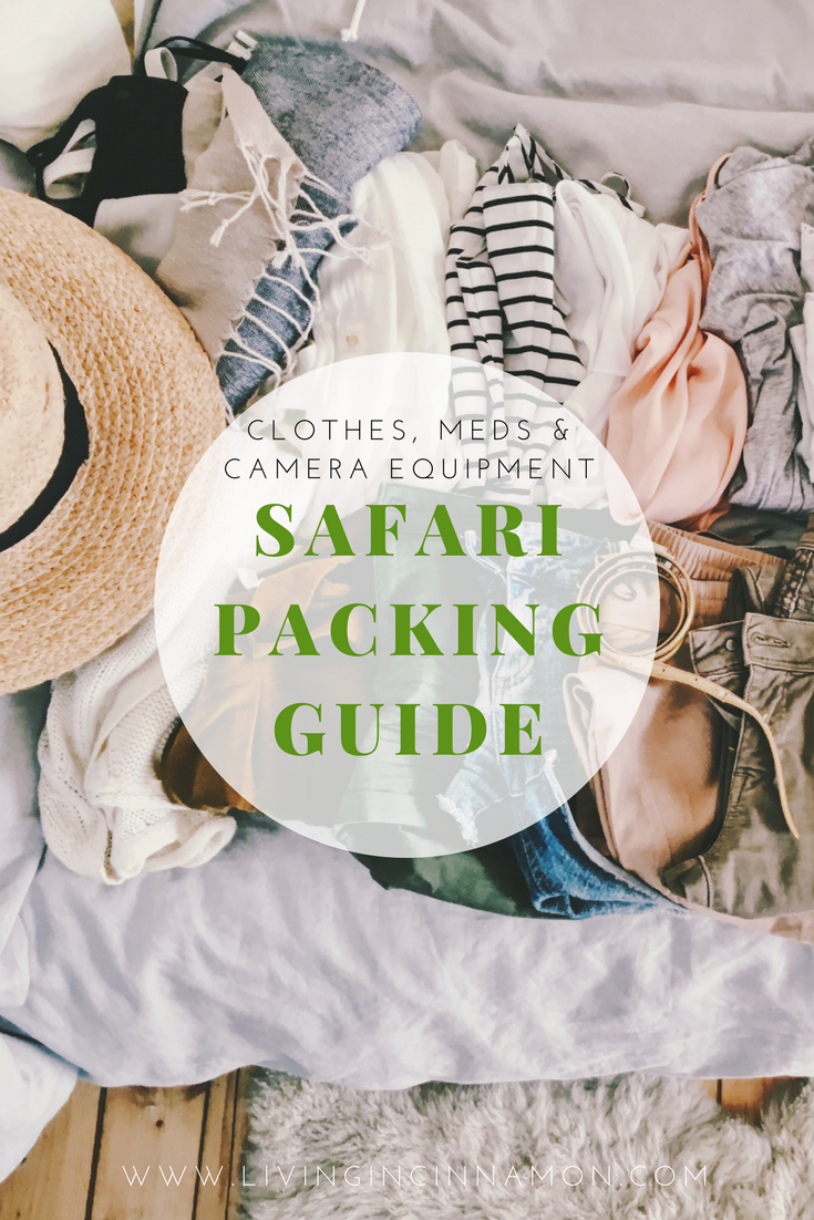 SAFARI PACKING GUIDE