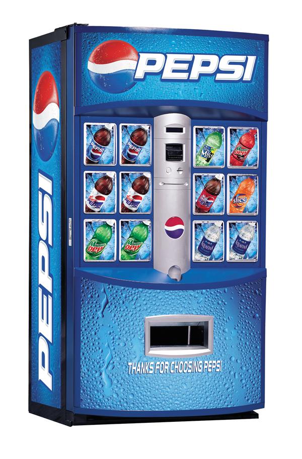 Pepsi High-Visibility Vendor