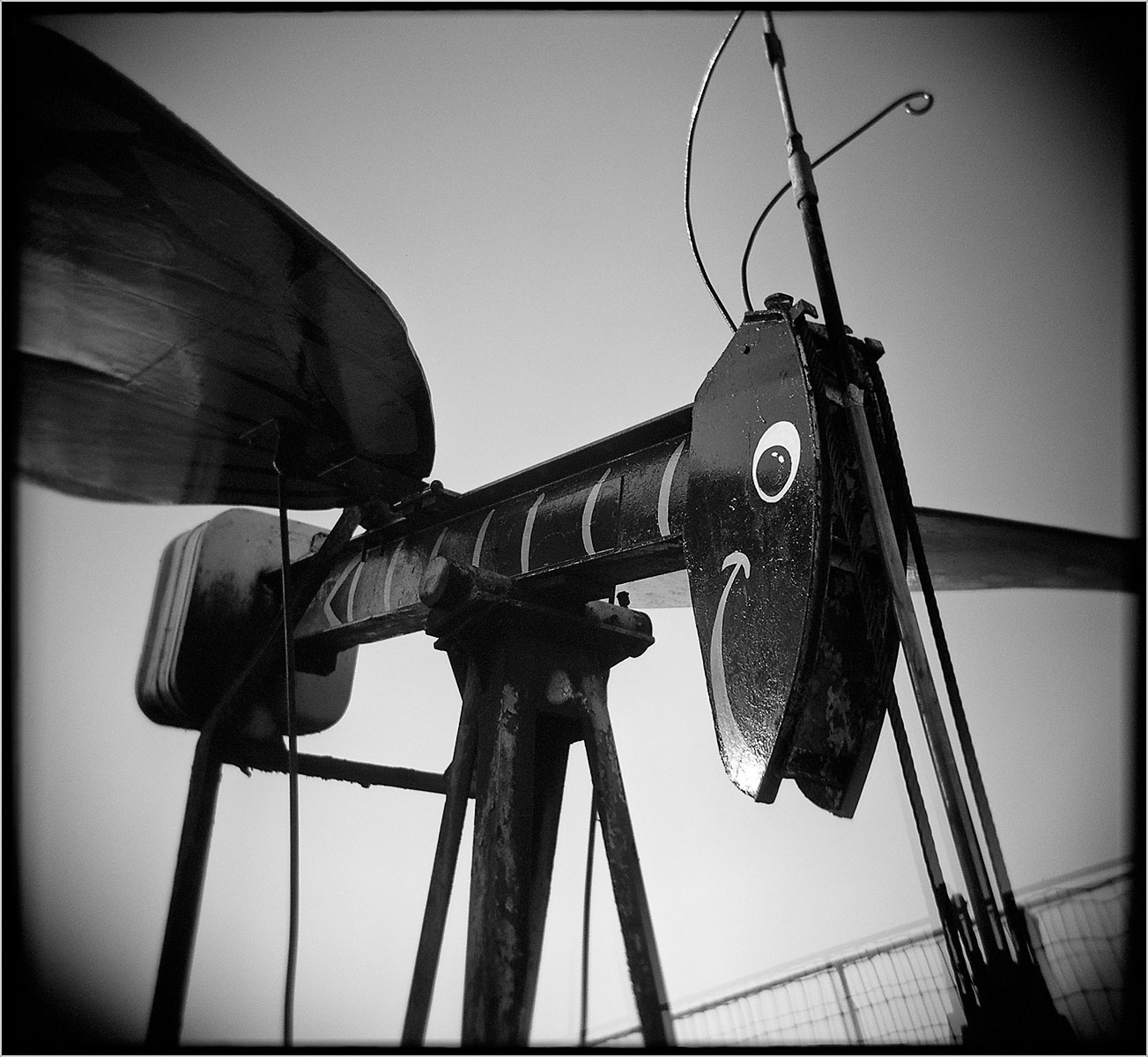 Pump Jack #2 (The Butterfly)
