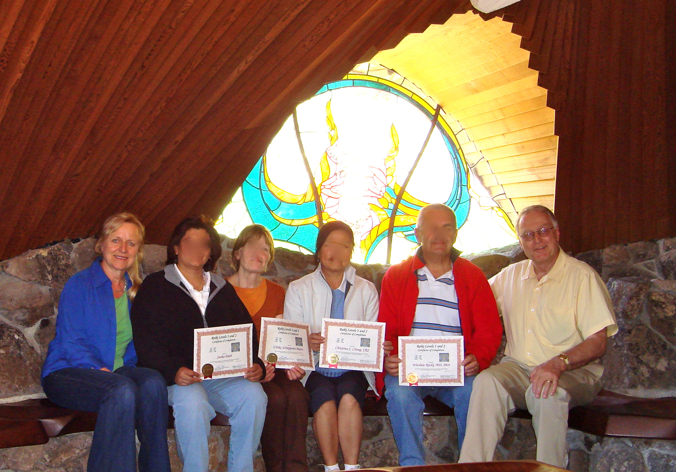 Reiki certification in Sea Ranch Chapel