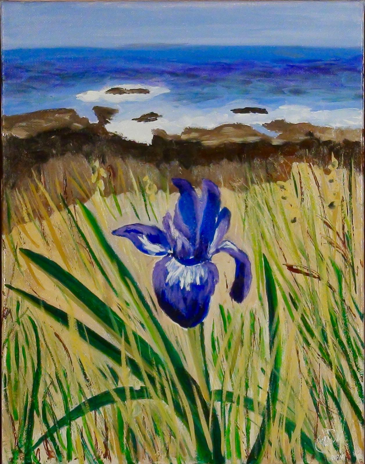 """Iris"" - Oil, 11""x 14"" (2016)"
