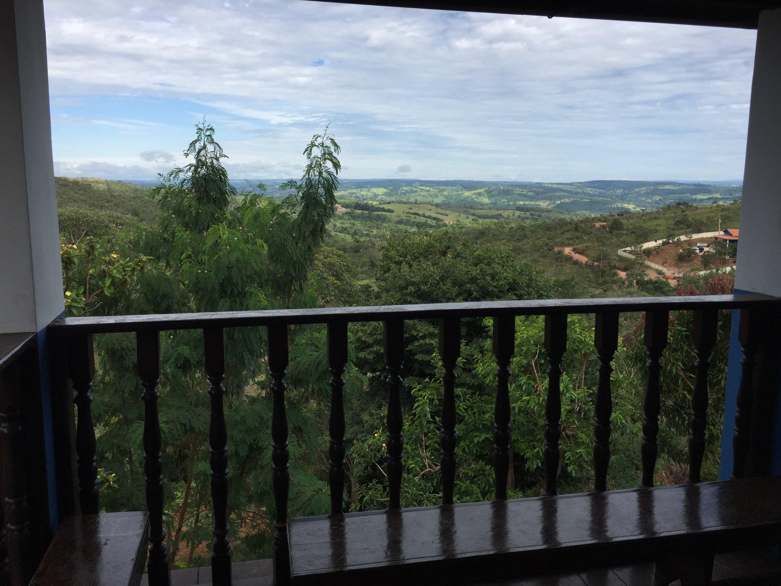 Auf der Meditations-Terrasse