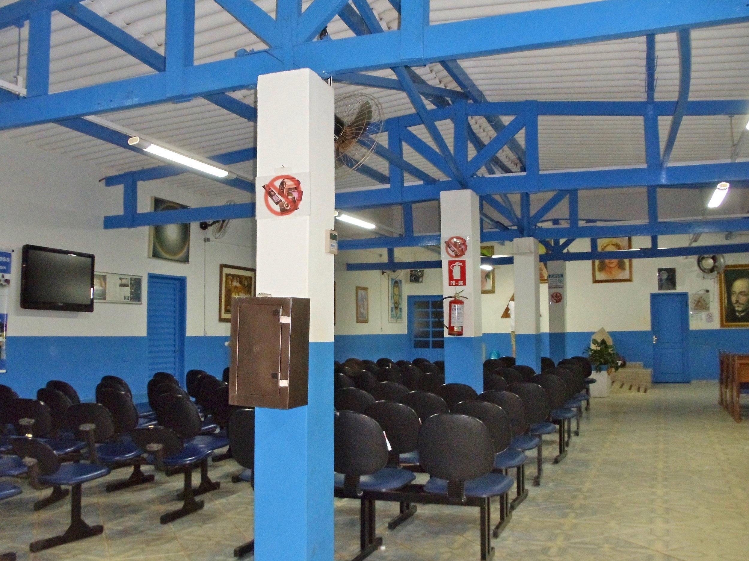 Grosse Halle der Casa de Dom Inacio