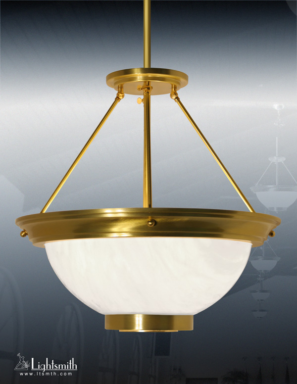 1824-PC - Satin Gold - White Opal Acrylic