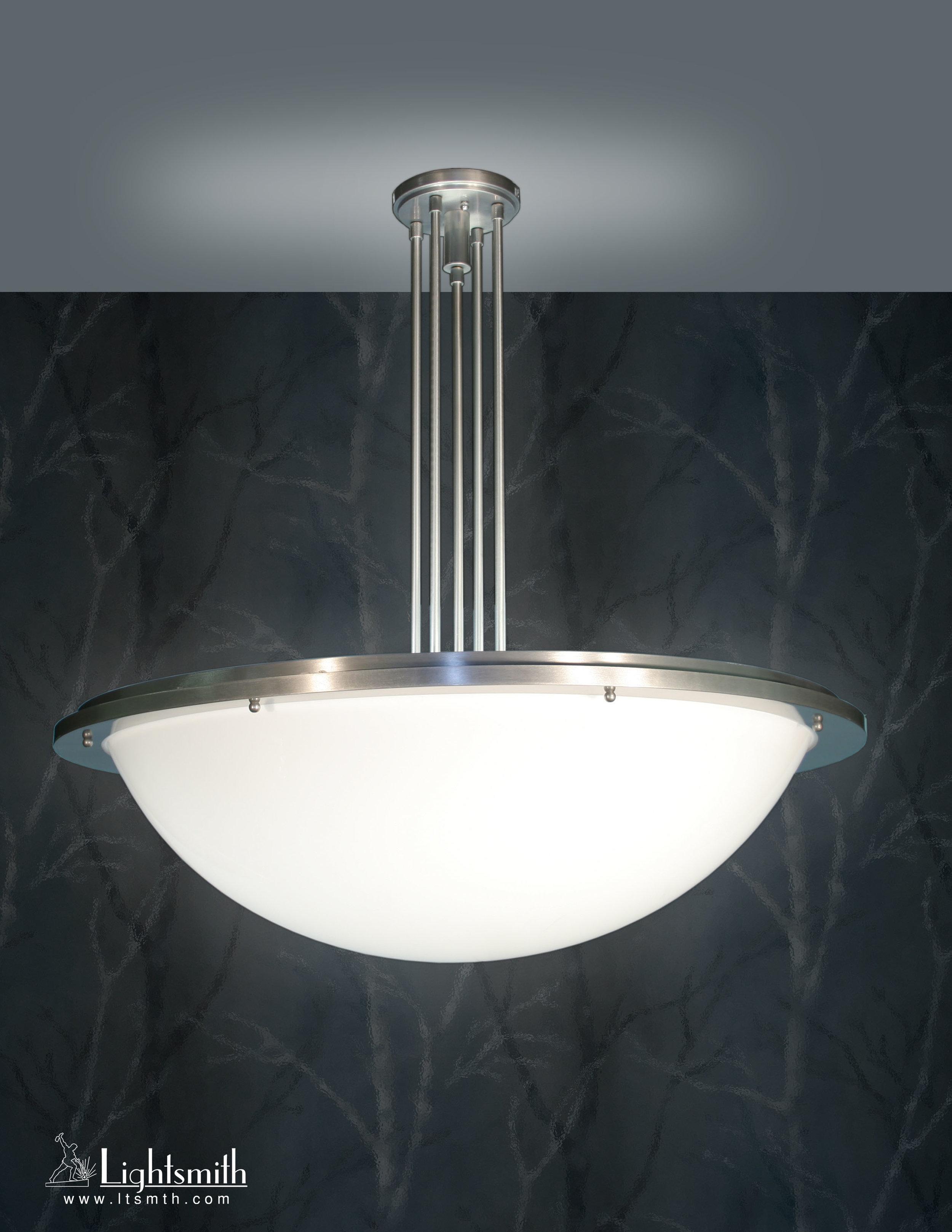 PD-9313 - Satin Aluminum -White Opal Acrylic
