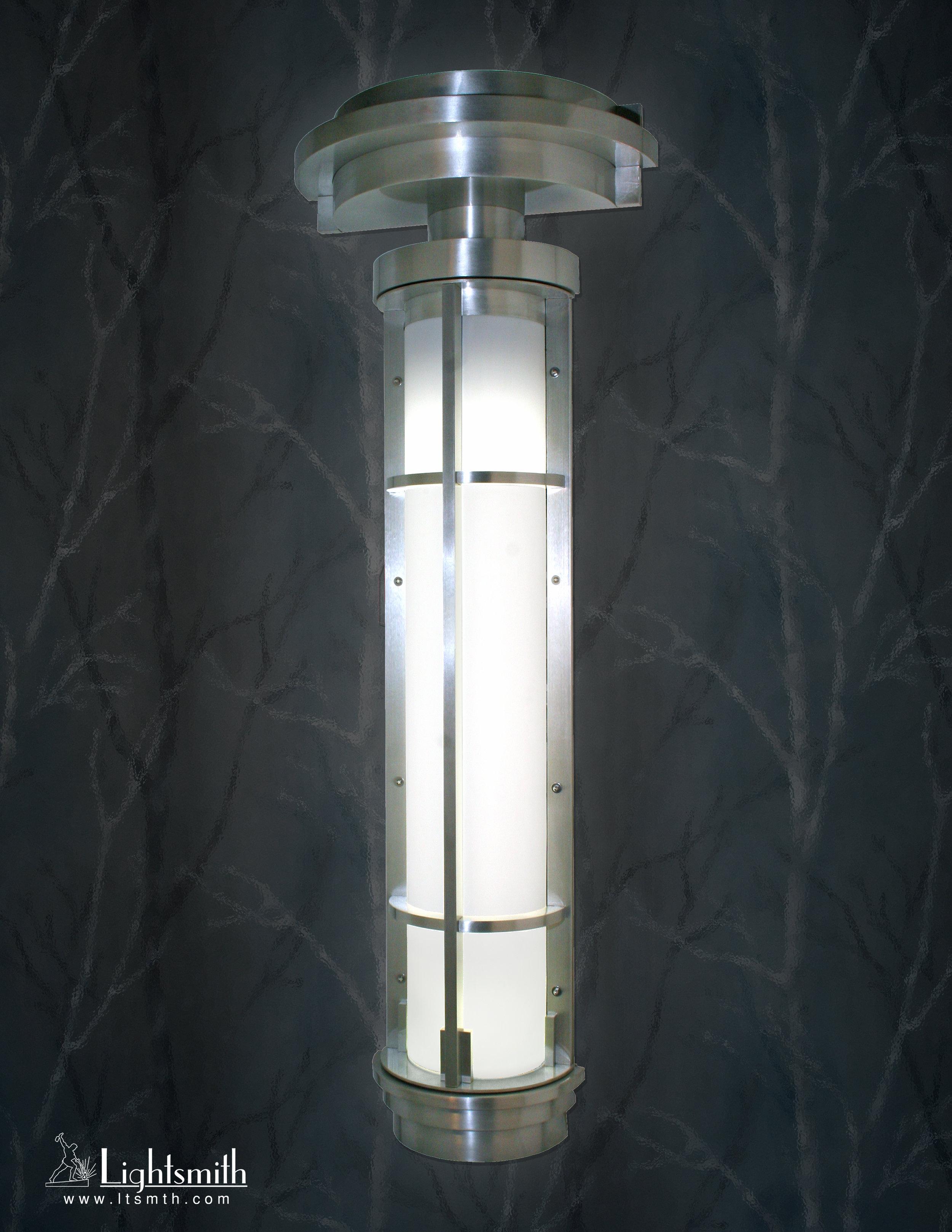 SC-3705 - Satin Aluminum -White Opal Acrylic