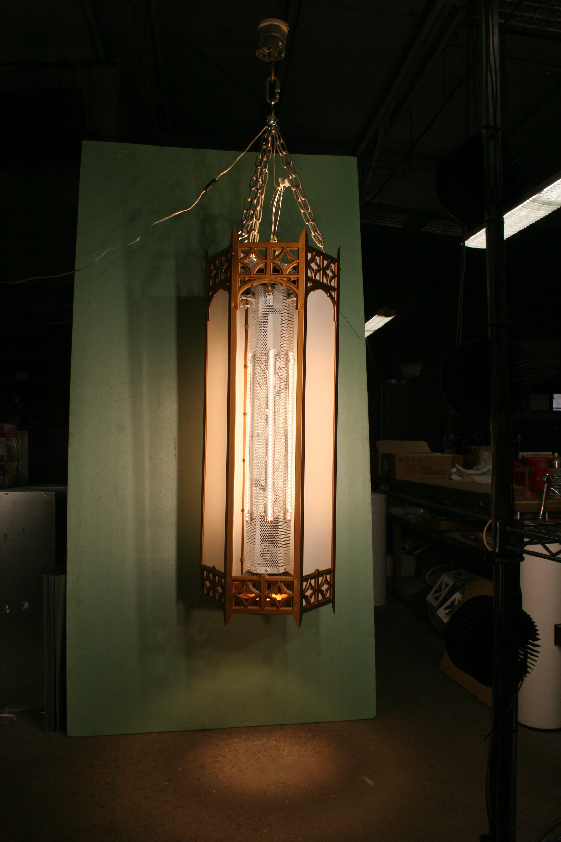 631u1213n183d LED Church Lantern Retrofit.