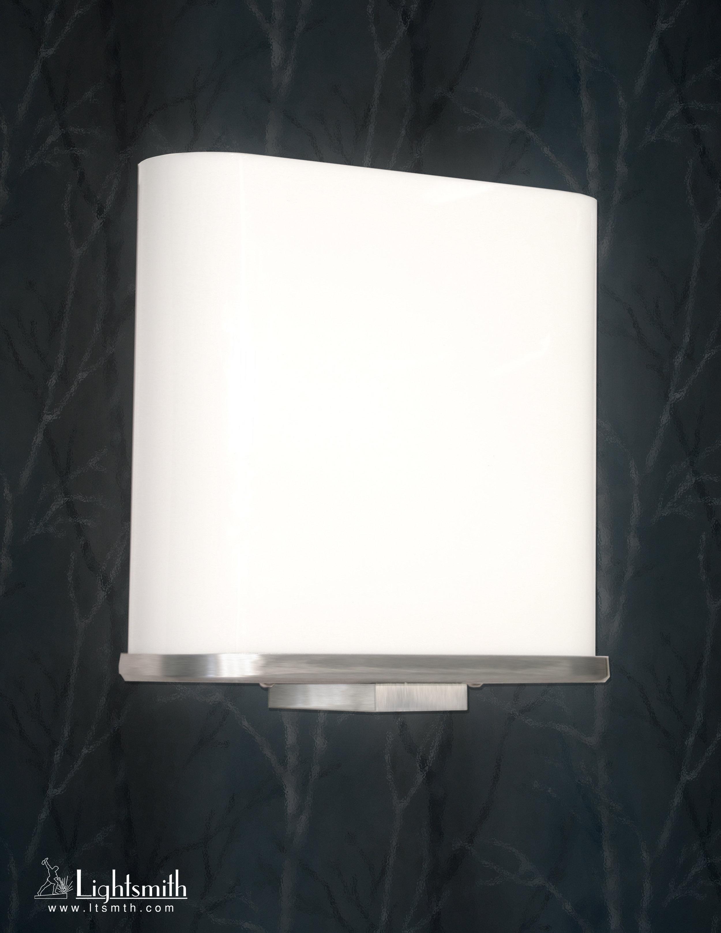 SC-7001 -Satin Aluminum -White Opal Acrylic