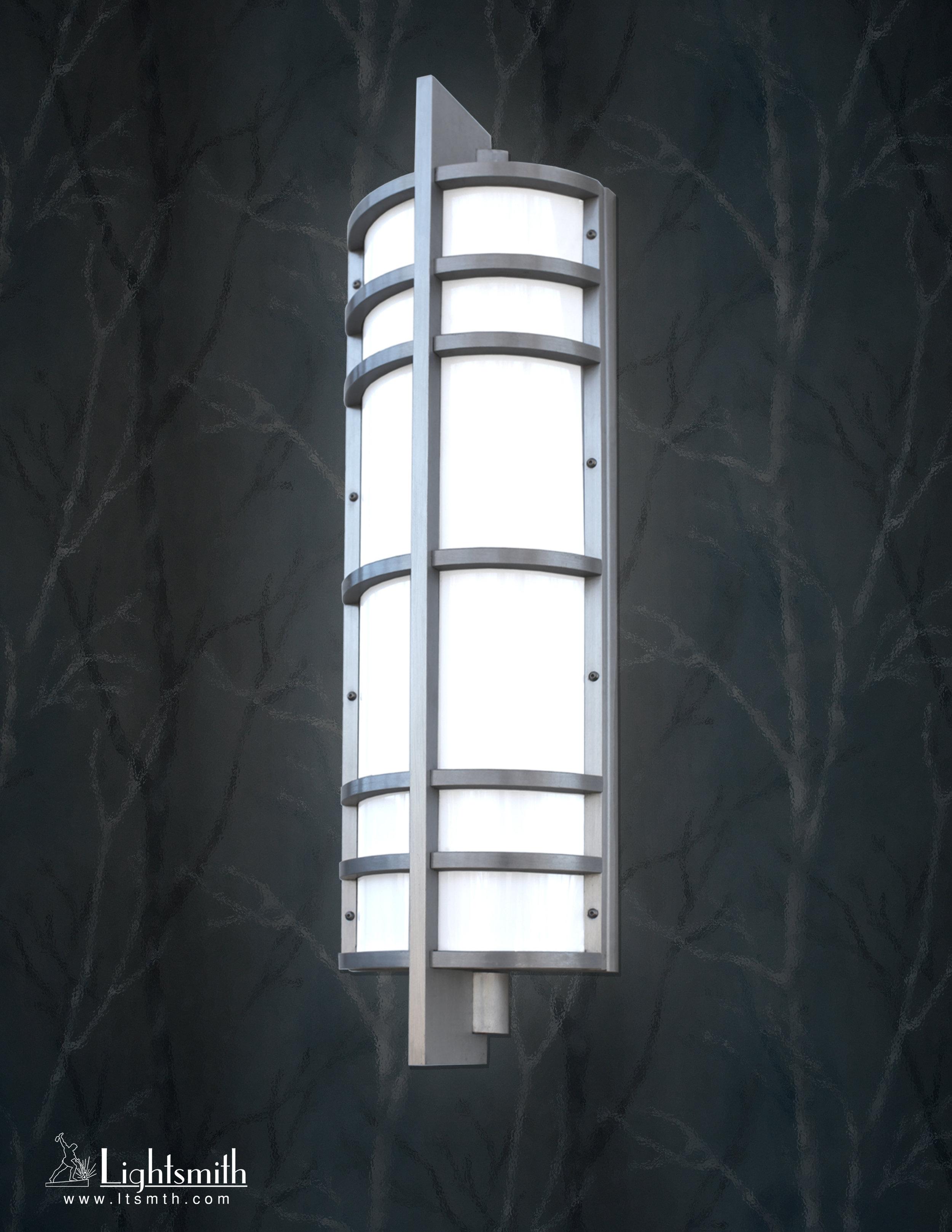 SC-3501 -Satin Aluminum -White Opal Acrylic