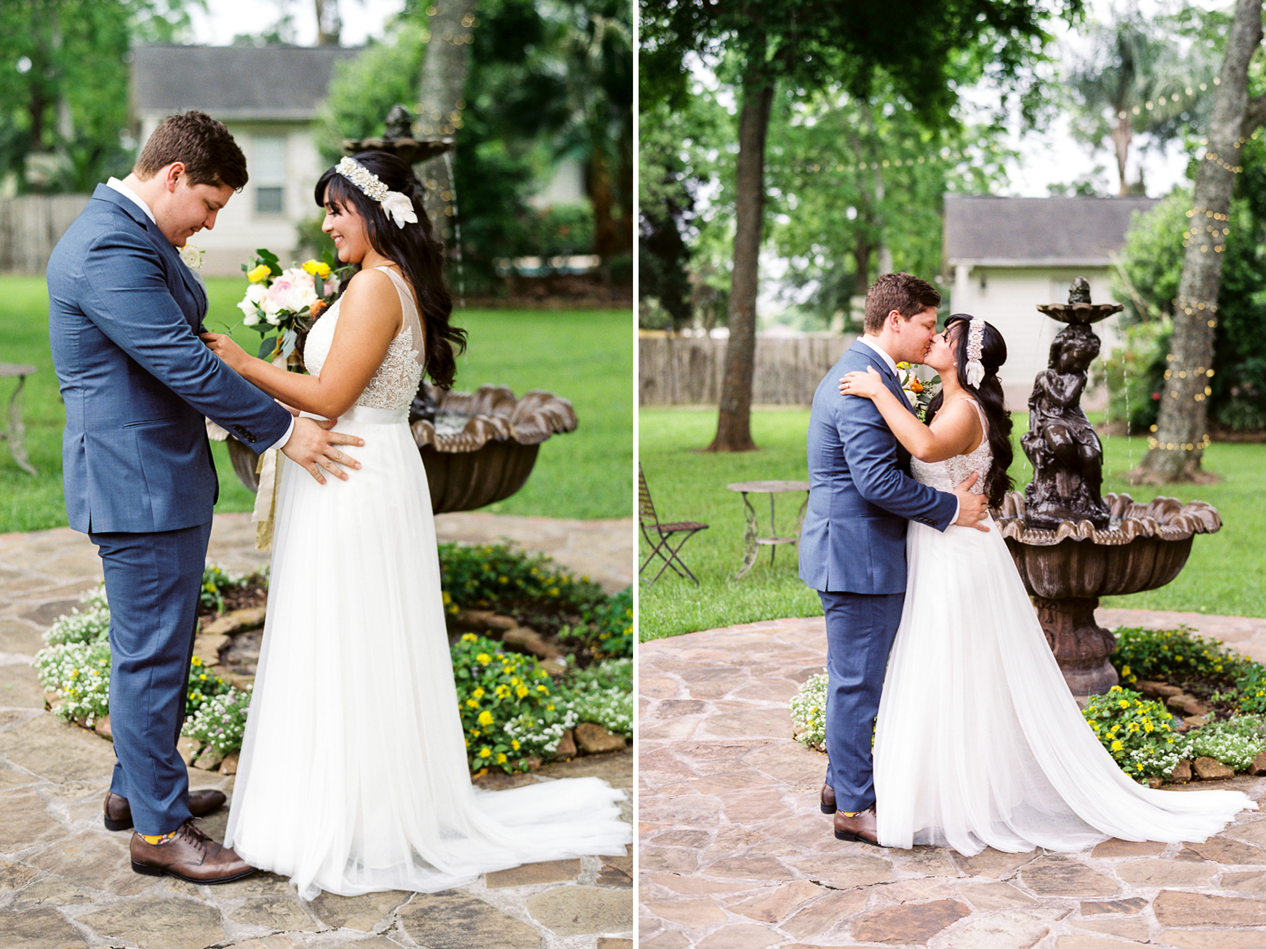 Dana Fernandez Photography Houston Texas Destination Photographer Film Ruffled Blog Wedding Bridal First Look Featured Photography Oak Tree Manor Houston-21.jpg