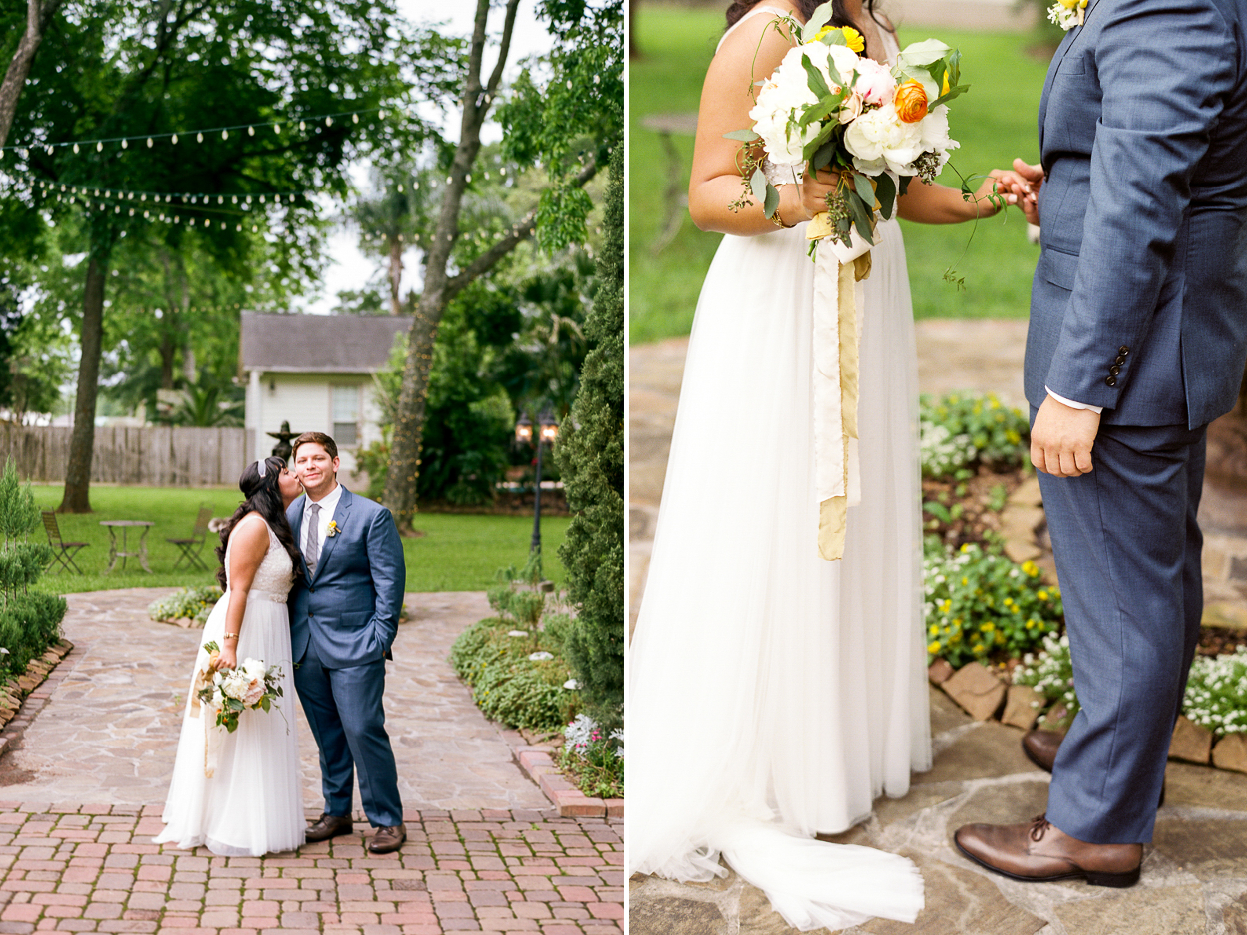 Dana Fernandez Photography Houston Texas Destination Photographer Film Ruffled Blog Wedding Bridal First Look Featured Photography Oak Tree Manor Houston-31.jpg