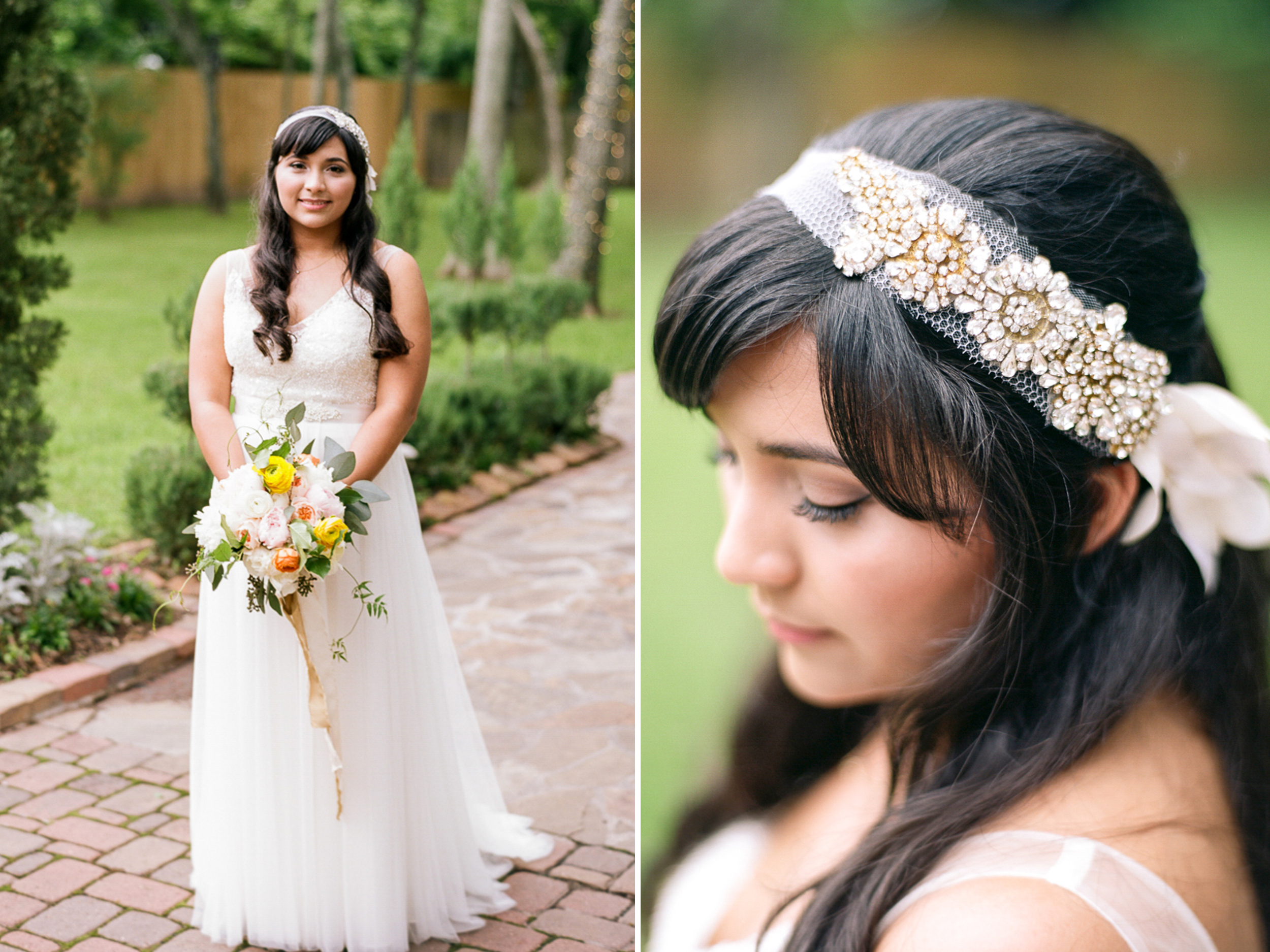 Dana Fernandez Photography Houston Texas Destination Photographer Film Ruffled Blog Wedding Bridal First Look Featured Photography Oak Tree Manor Houston-50.jpg