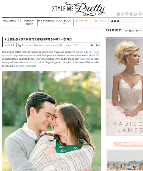 Style Me Pretty | Nov '16 (Engagement)