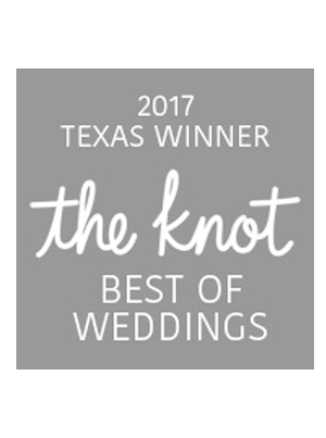 Selected as Best Wedding in Texas 2017