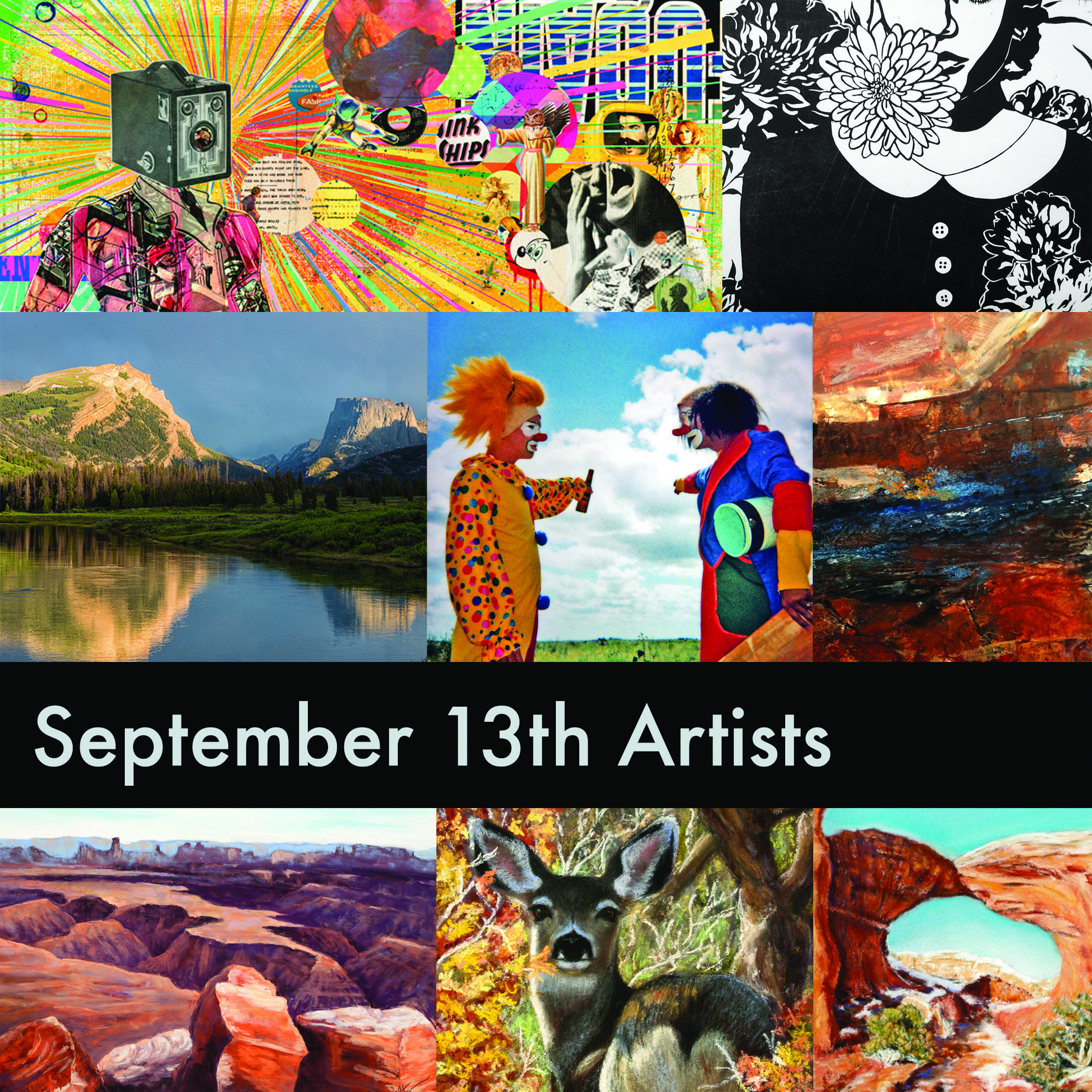September kicked off the Fall season of Artwalk! Great art and great fun!