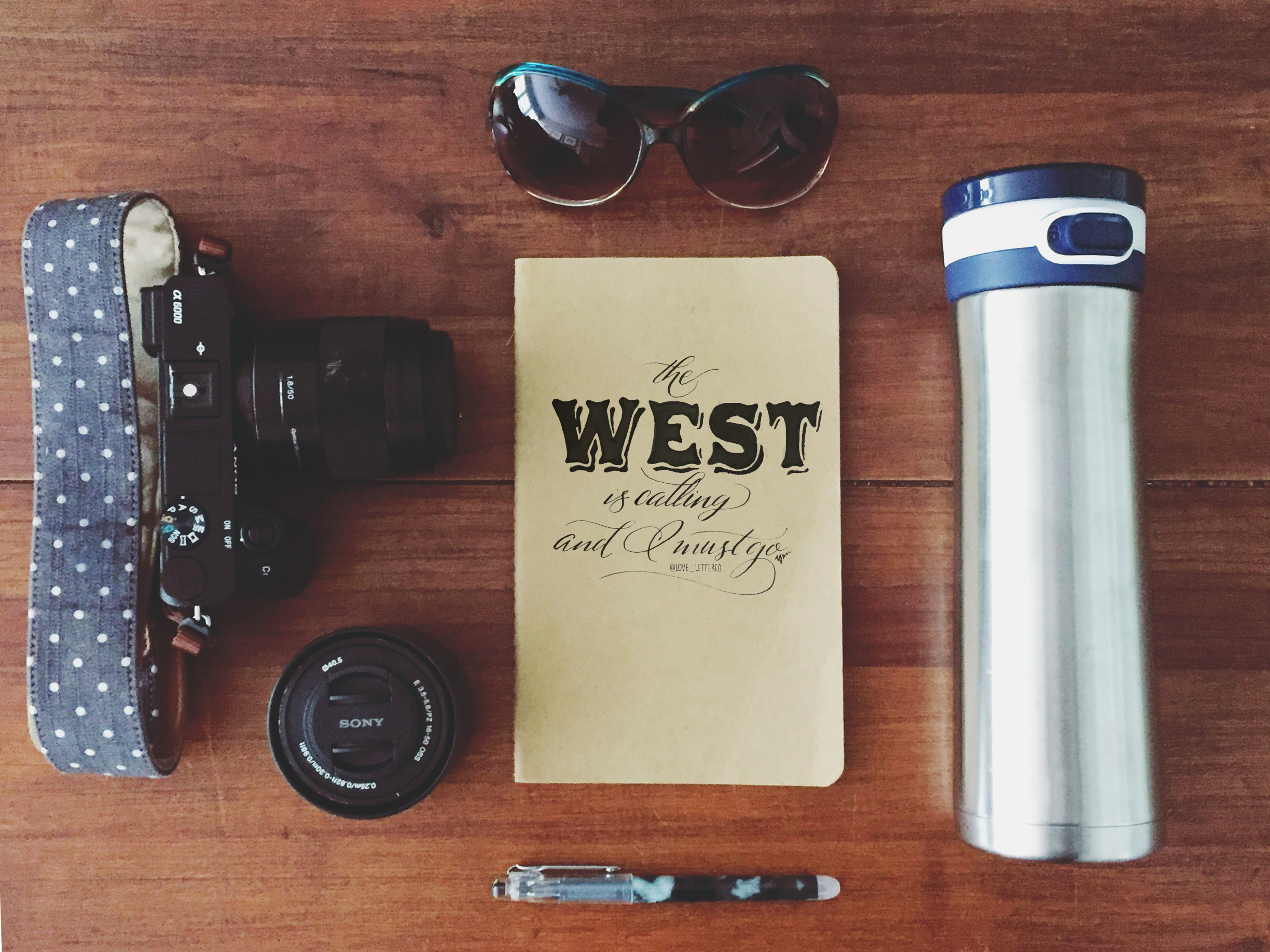 The west is calling, and I must go. #adventureisoutthere