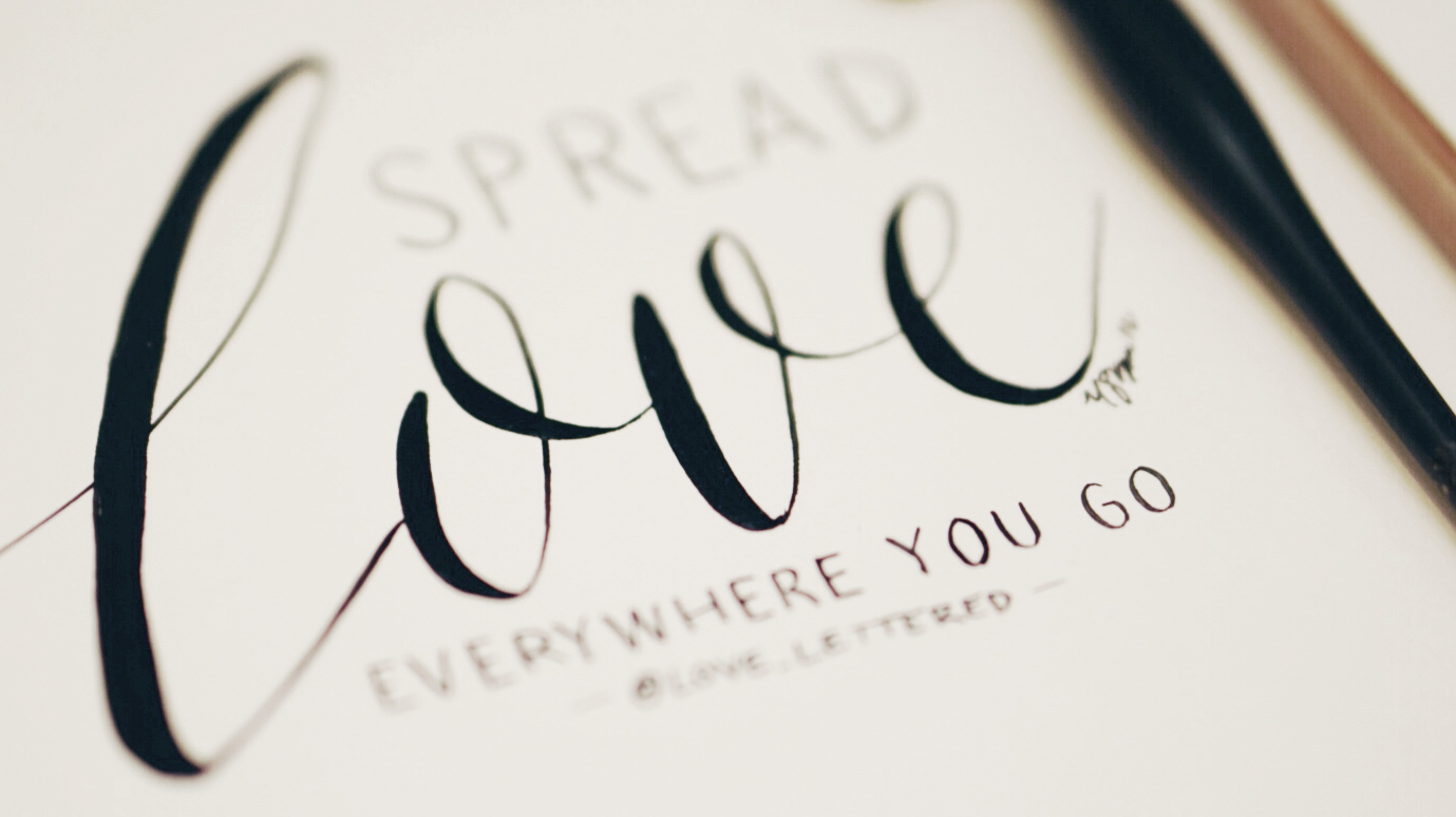 """Spread love wherever you go."" —Mother Teresa"