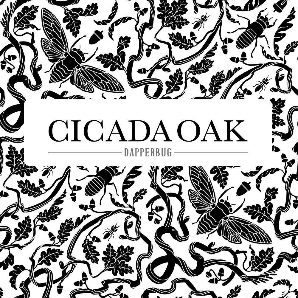 Cicada Oak Pattern