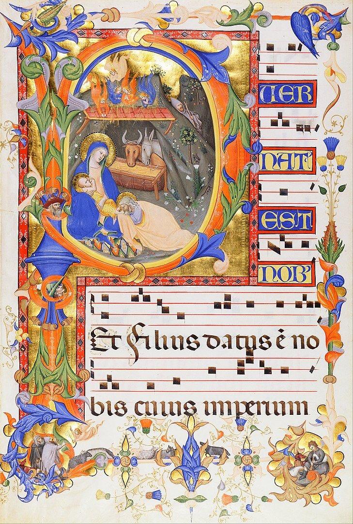 Puer natus est Nobis Manuscript