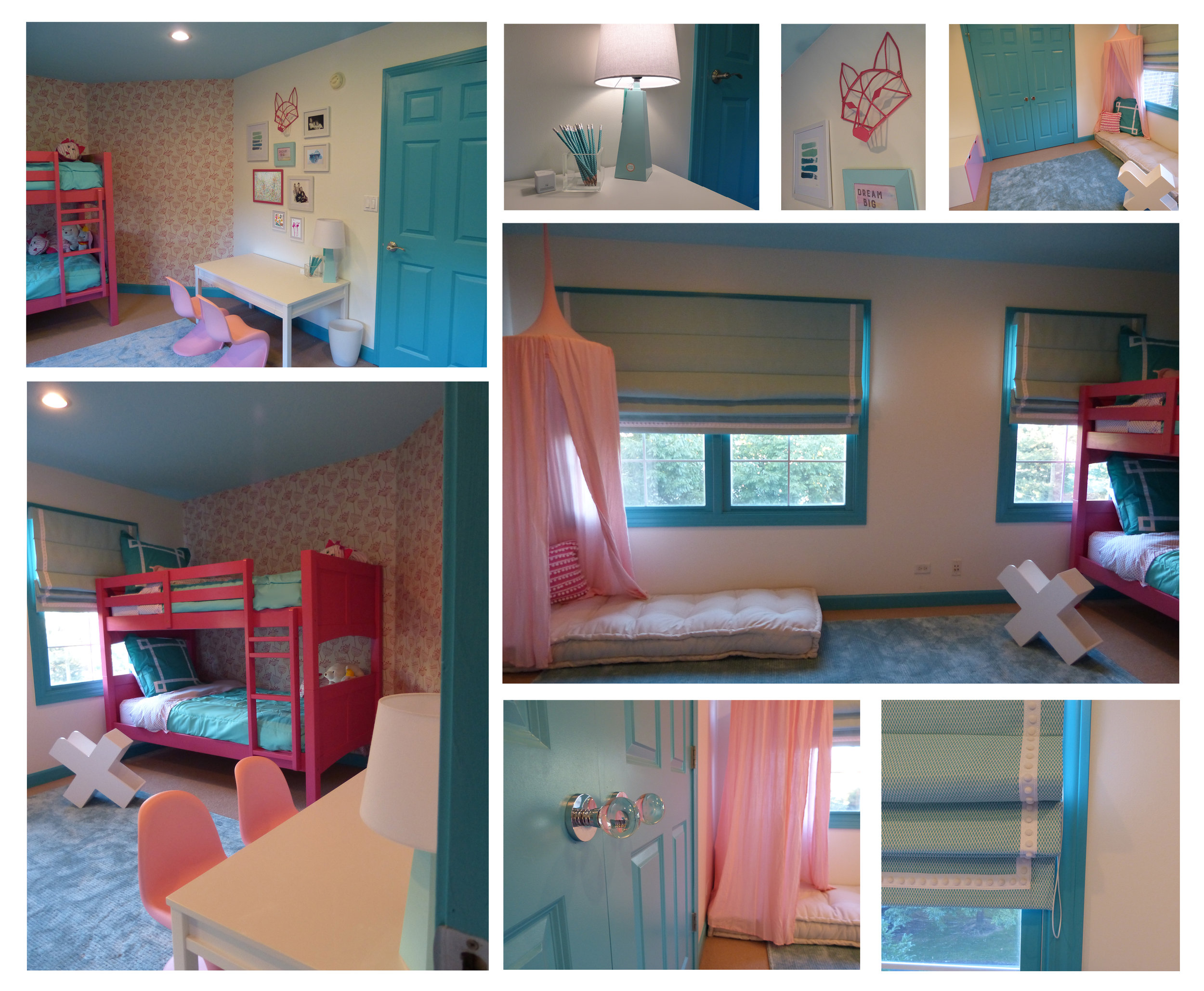 And after! All the gorgeous details coming together! We LOVE how this color combo turned out.