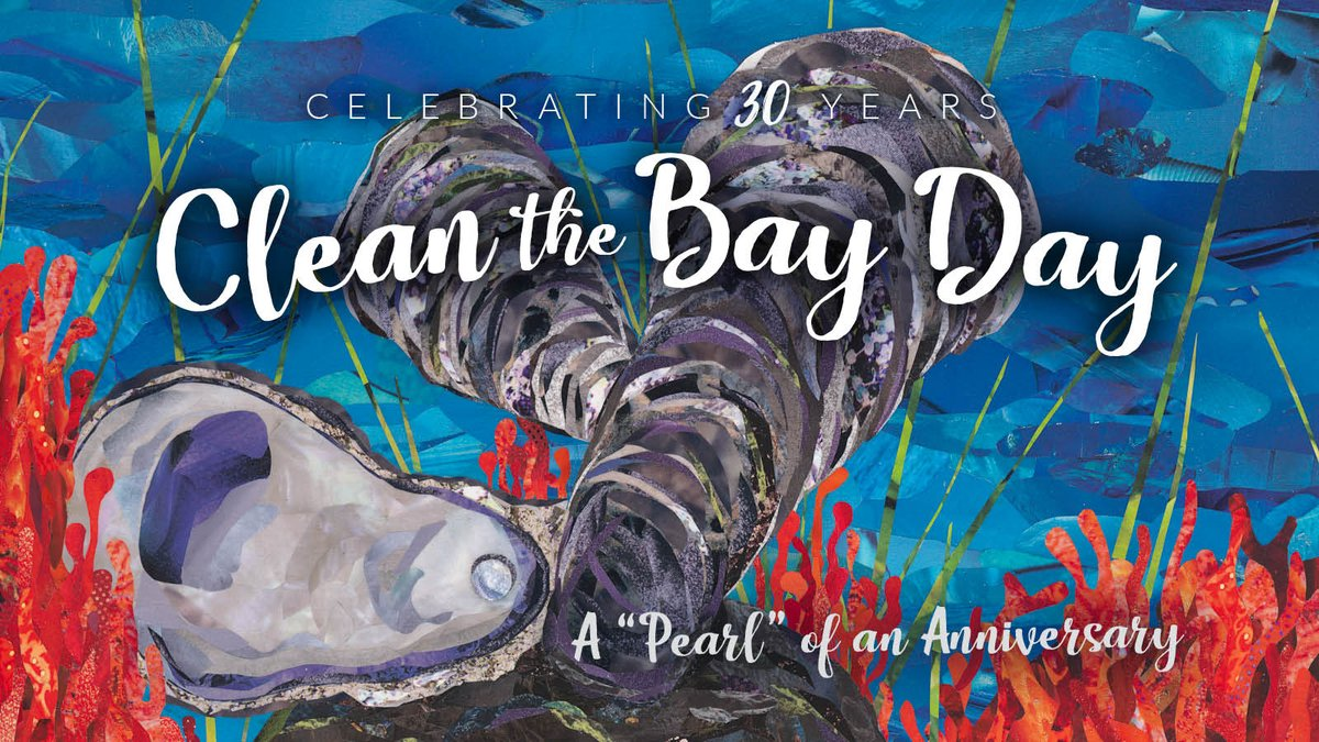 Clean the Bay Day poster using my artwork