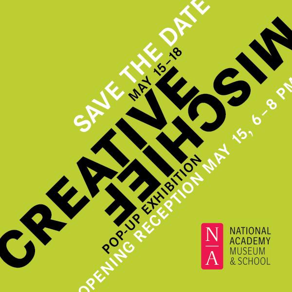 Creative Mischief invitation