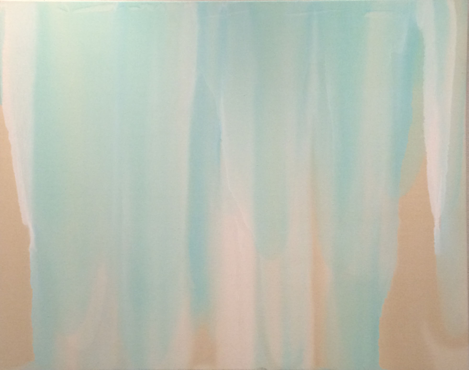 Waterfalls , 2014, oil on canvas, 38 x 48 inches.