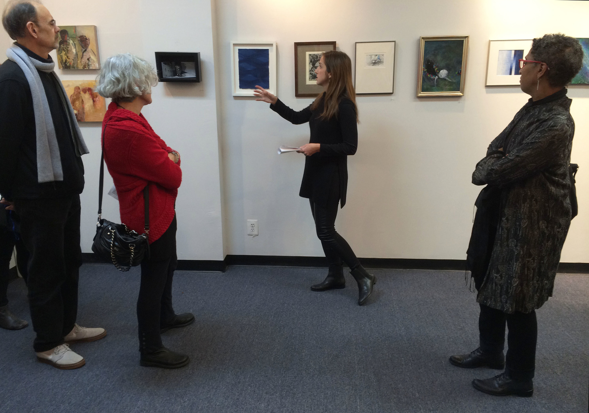 Small Works Exhibition at N.A.W.A. Gallery
