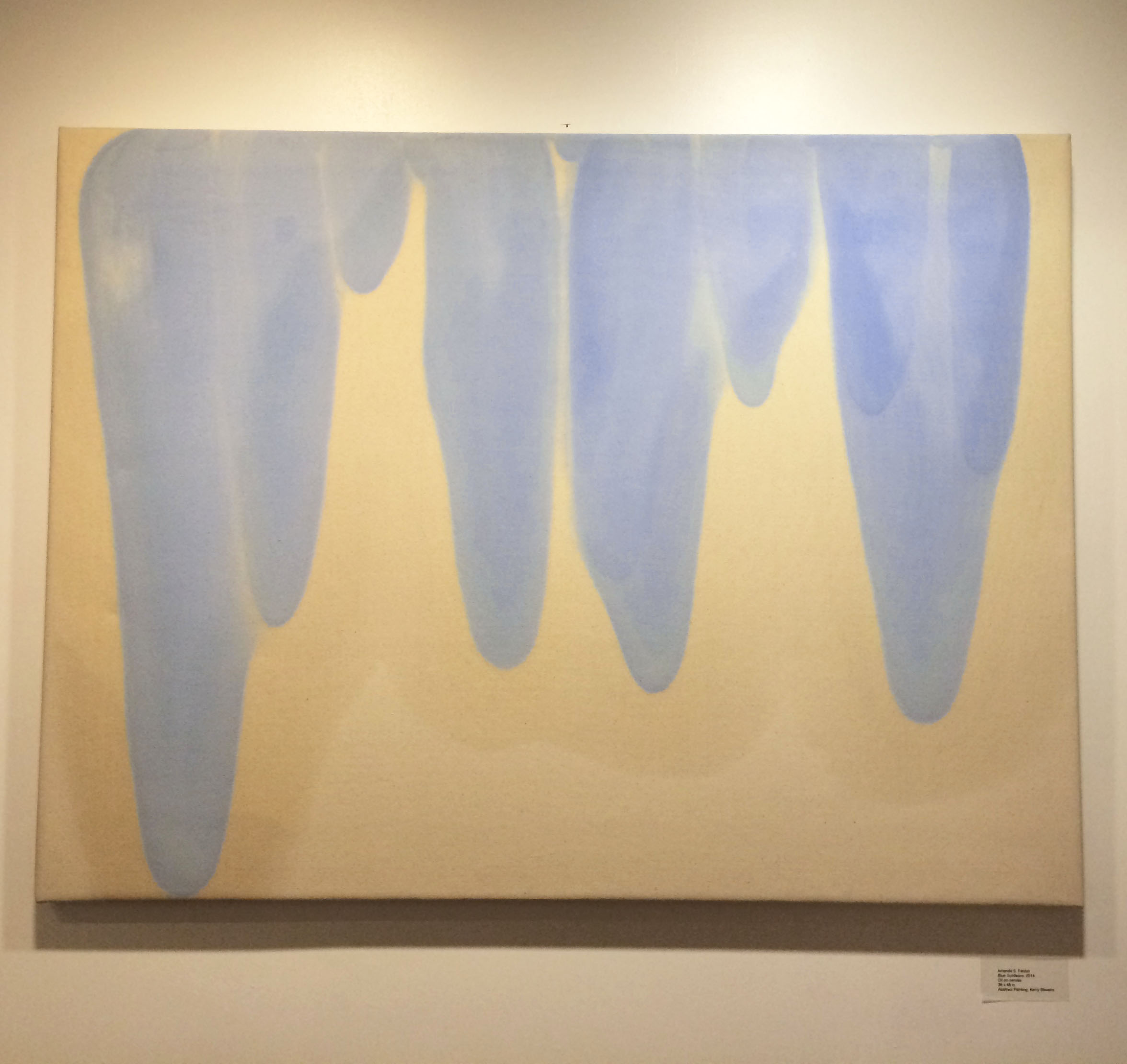 Blue Subleties in Mid-Year Exhibition at National Academy