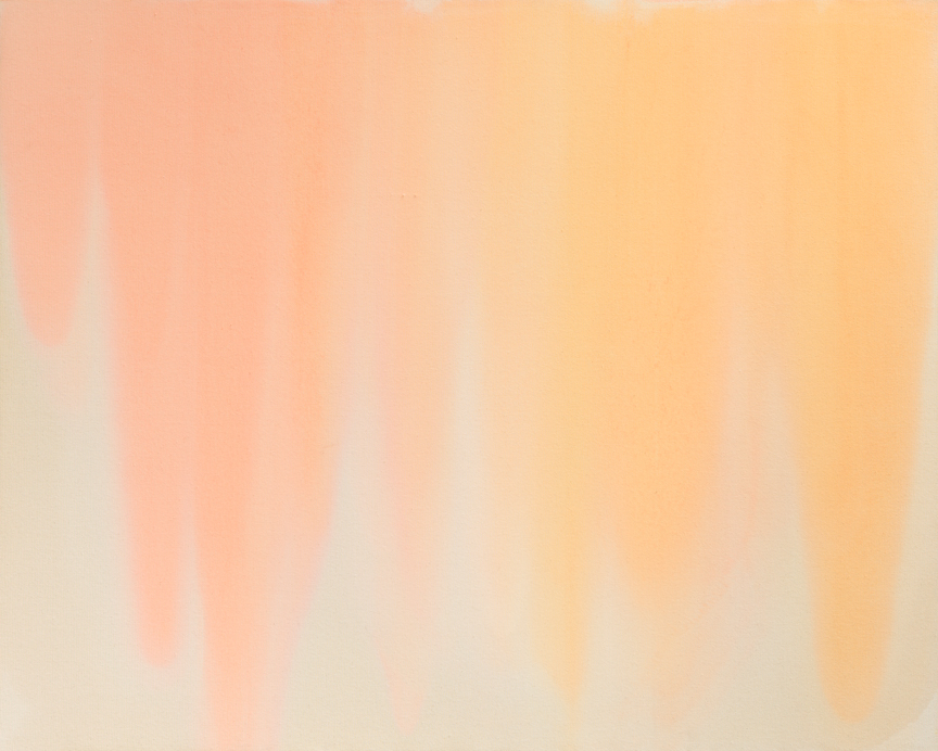 Expansion , 2015  Oil on canvas  48 x 60 inches