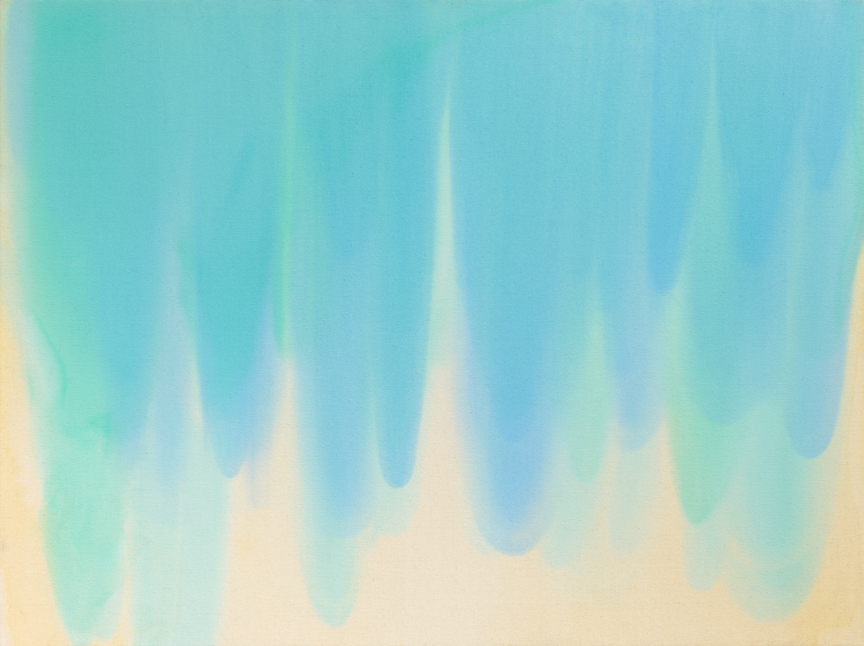 Ocean Rush , 2015, Oil on canvas, 36 x 48 inches  Please save the date!  I am thrilled to announce that I will be presenting several of my pour paintings for the first time in New Orleans  (my hometown) at the  Claire Elizabeth Gallery  March 24 - May 5, 2016.      Diffusion of Color: Works by Amanda Salvaggio Fenlon & Briana Catarino    Claire Elizabeth Gallery   131 Decatur Street (between Iberville & Canal Streets)  New Orleans, LA  March 24 – May 5, 2016  Opening reception: Thursday, March 24th, 5-7pm  Read full press release  here .